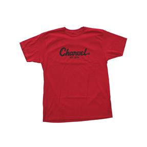 Charvel T-Shirt Toothpaste Logo Tee - Red