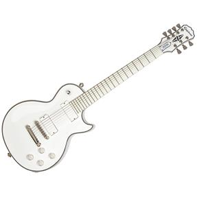 "Epiphone Les Paul Custom-7 Matt Heafy ""Snofall"", Alp. White"