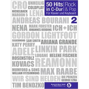 Bosworth Edition 50 Hits in C-Dur Rock und Pop Band 2