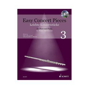 Schott Verlag Easy Concert Pieces 3 mit CD