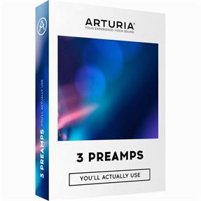 Arturia 3 Preamps Lizenzcode