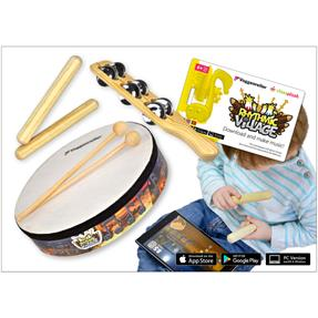 Voggenreiter Rhythmic Village Percussions mit App