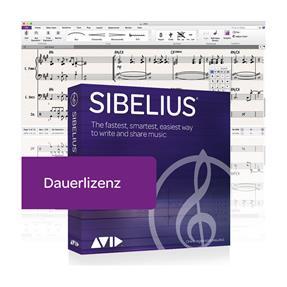 Avid Sibelius Dauerlizenz Box