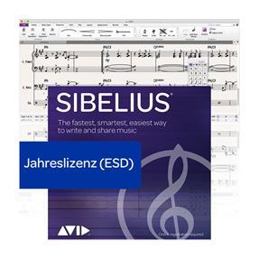 Avid Sibelius Jahreslizenz Lizenzcode