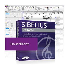 Avid Sibelius Ultimate Dauerlizenz Box
