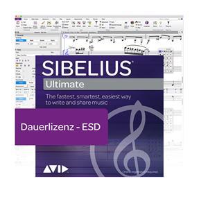 Avid Sibelius Ultimate Dauerlizenz Lizenzcode
