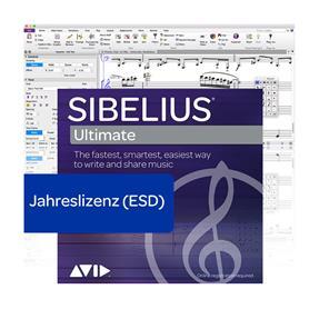 Avid Sibelius Ultimate Jahreslizenz