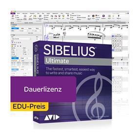 Avid Sibelius Ultimate EDU Dauerlizenz Box