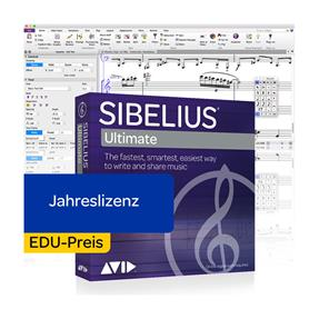 Avid Sibelius Ultimate EDU Jahreslizenz Box