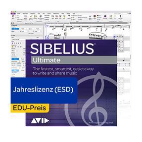 Avid Sibelius Ultimate EDU Jahreslizenz