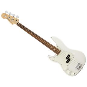 Fender Player Precision Bass Left-Handed, PF Polar White