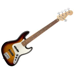 Fender Jazz Bass V Player, 3-Color Sunburst
