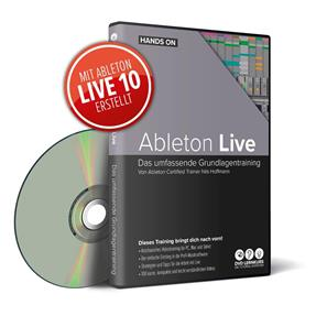 DVD Lernkurs Hands On Ableton Live 10