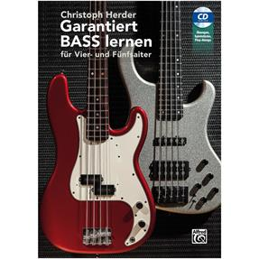 Alfred Publishing Garantiert Bass Lernen mit CD