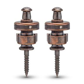 Schaller S-Lock VC - Straplock, Vintage Copper