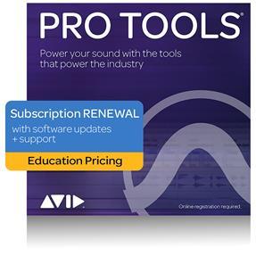 Avid Pro Tools EDU Student/Teacher Jahreslizenz