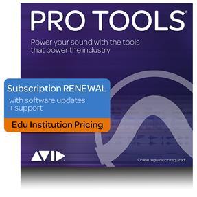 Avid Pro Tools EDU Institute Jahrelizenz Verlängerung