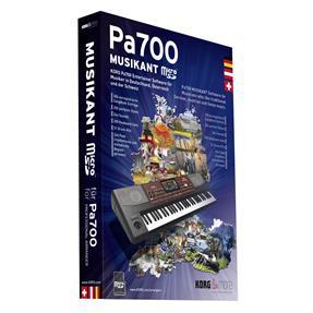 Korg Pa700 MUSIKANT SD