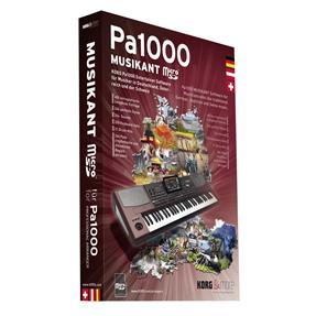 Korg Pa1000 MUSIKANT SD