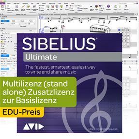 Avid Sibelius Ultimate EDU 5-fach Mehrplatz Sitz