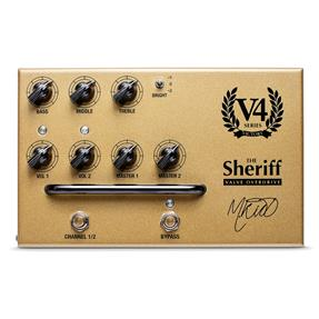 Victory V4 The Sheriff Dual Channel Preamp in