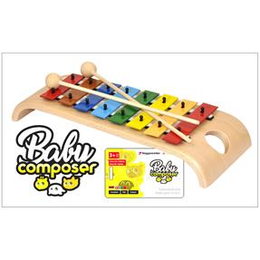 Voggenreiter Glockenspiel mit Baby Composer App