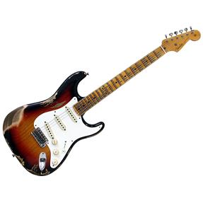 Fender CS Stratocaster 55 Heavy Relic, 3 Tone Sunburst