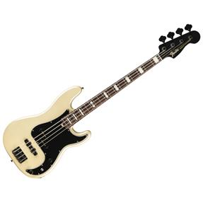 Fender Duff McKagan Deluxe Precision Bass, RW White Pearl