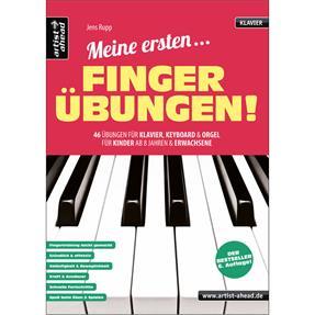 Artist Ahead Verlag Meine ersten Fingerübungen