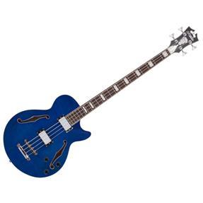D'angelico Premier Bass, Trans Blue