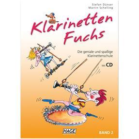 Hage Musikverlag Klarinetten Fuchs Band 2 mit CD