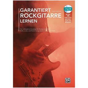 Alfred Publishing Garantiert Rockgitarre Lernen mit CD