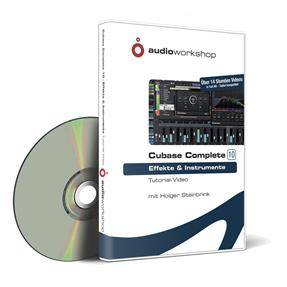 Audioworkshop Cubase Complete 10 - Effekte und Instrumente