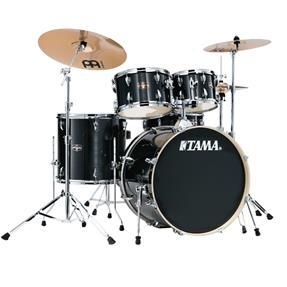 TAMA Imperialstar Drum Bundle - Hairline Black