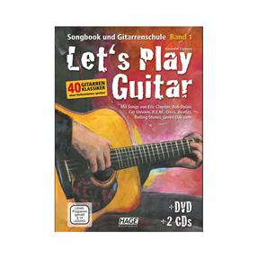 Hage Musikverlag Lets Play Guitar Band 1