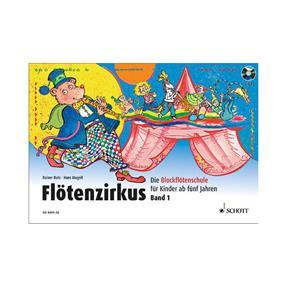 Schott Verlag Flötenzirkus Band 1 mit CD
