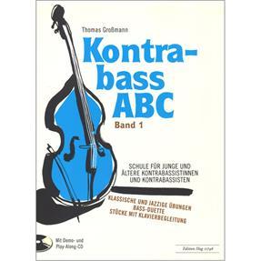 Hug Musikverlage Kontrabass ABC Band 1
