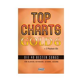 Hage Musikverlag Top Charts GOLD Band 6