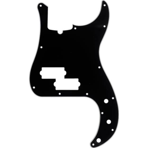 Fender Pickguard für P-Bass, Black