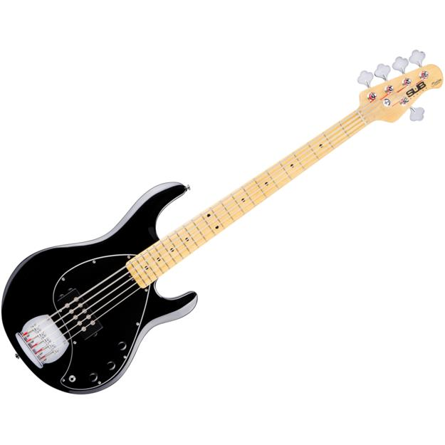 Sterling By Music... SUB Ray5 BK, Black