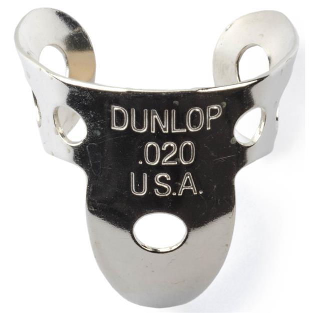 "Dunlop Finger Pick Nickel Silver Tube, 0,20"""