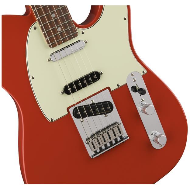 Fender Deluxe Nashville Telecaster, PF Fiesta Red