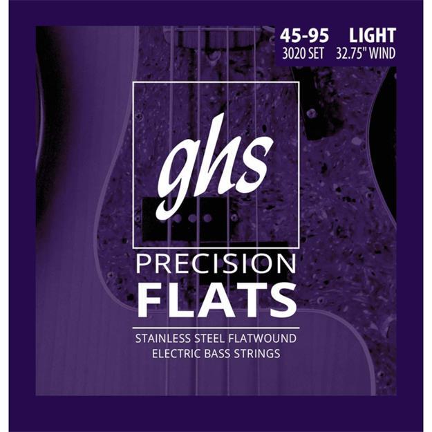 GHS Precision Flatwound 3020 L