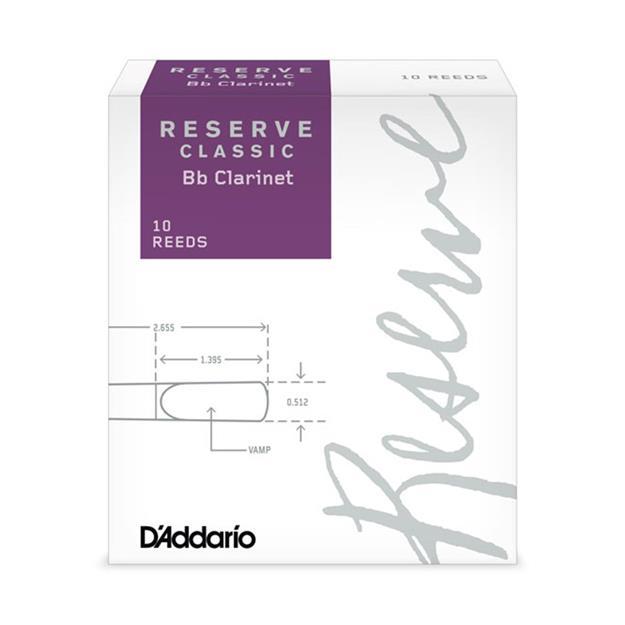 D'addario Woodwinds Reserve Classic 4,0+ Bb-Klarinette