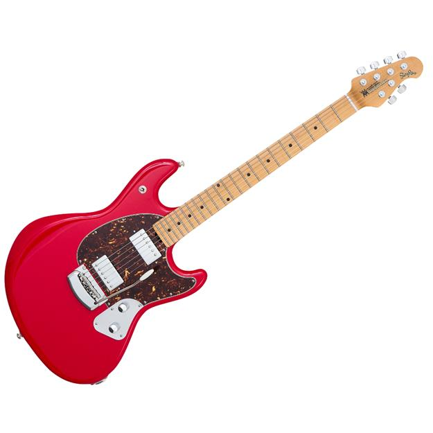 Music Man MusicMan StingRay Guitar HH, Chili Red