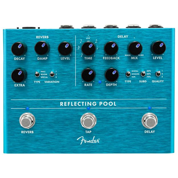 Fender Reflecting Pool Delay/ Reverb