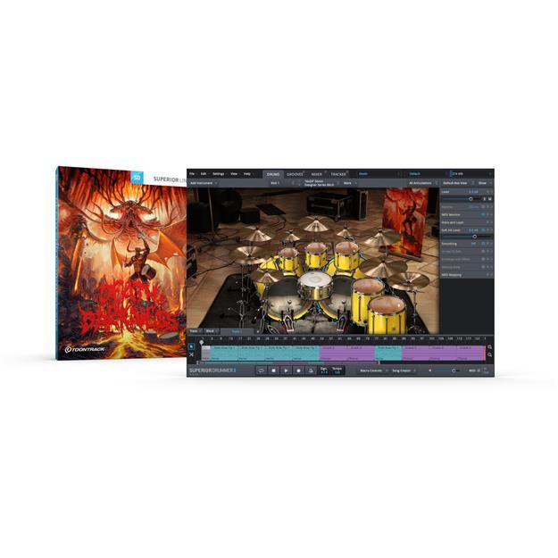 Toontrack Death & Darkness SDX Lizenzcode
