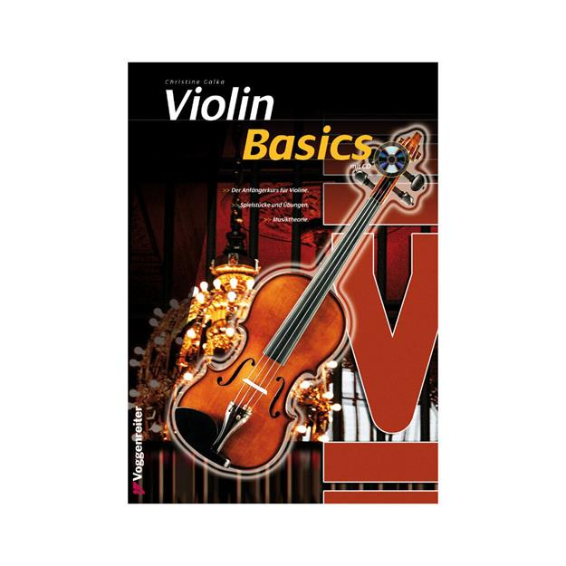 Voggenreiter Violin Basics mit CD