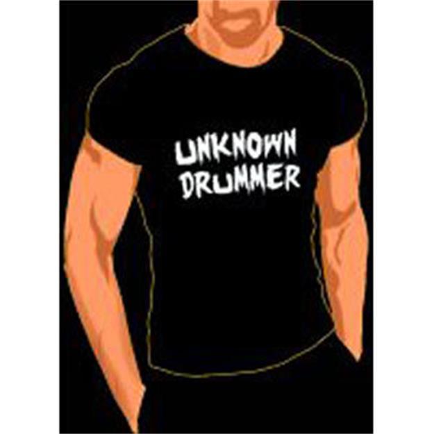 Groove & Wear T-Shirt UNKNOWN DRUMMER