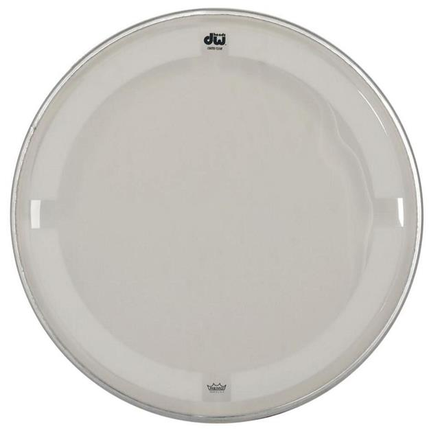 "DW Drums Coated Clear 18"" - Tomfell"